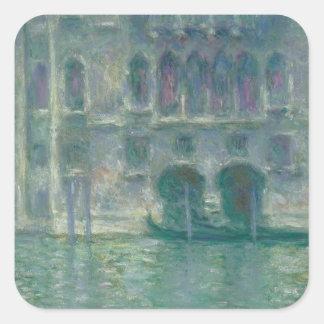Sticker Carré Vue panoramique de Claude Monet | de