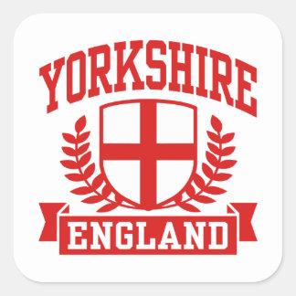 Sticker Carré Yorkshire Angleterre