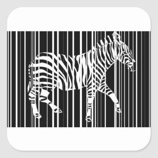 Sticker Carré zebra-barre2xl