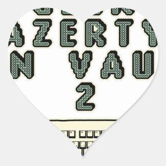Sticker Cœur 1 GEEK AZERY en vaut 2 - Jeux de motsT
