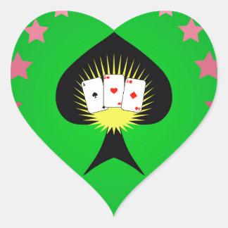 Sticker Cœur 64Casino Logo_rasterized