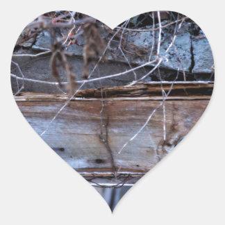 Sticker Cœur Abandonné
