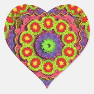 Sticker Cœur Abrégé sur Pinata de Cinco De Mayo