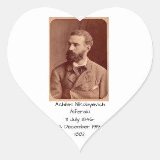 Sticker Cœur Achille Nikolayevich Alferaki