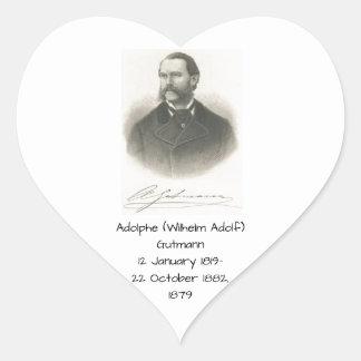 Sticker Cœur Adolphe (Wilhelm Adolf) Gutmann