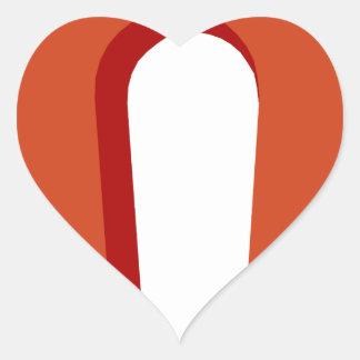 Sticker Cœur Aimant en fer à cheval