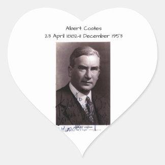 Sticker Cœur Albert Coates