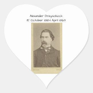 Sticker Cœur Alexandre Dreyschock