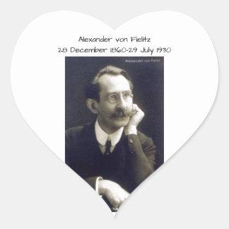 Sticker Cœur Alexandre von Fielitz