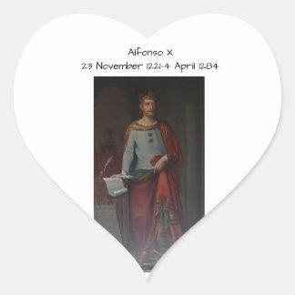 Sticker Cœur Alfonso X