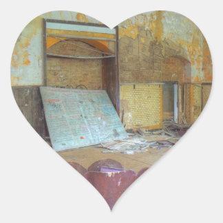 Sticker Cœur Amphithéâtre 01,0, endroits perdus, Beelitz