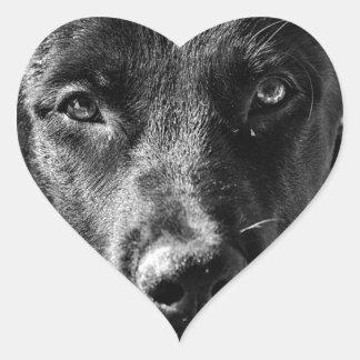 Sticker Cœur Animal familier canin de chien