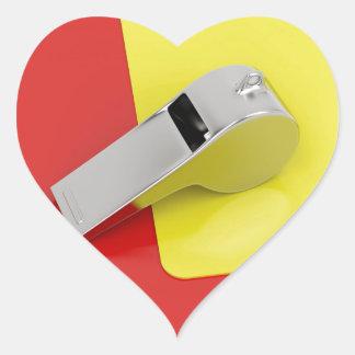 Sticker Cœur Attributs d'arbitre