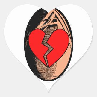 Sticker Cœur Au Rugby, j'apprends à me faire plaquer
