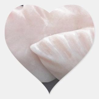 Sticker Cœur Avant mystérieux soutenu épineux side1 de poissons