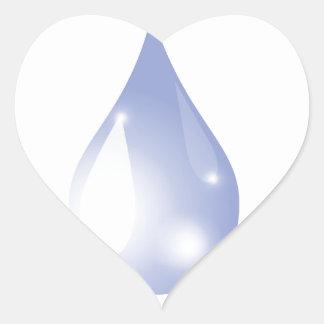 Sticker Cœur Baisse de l'eau