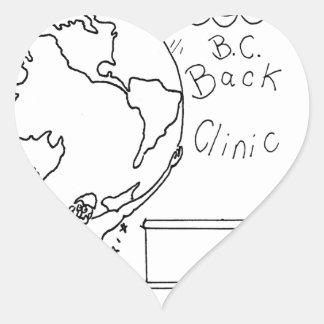 Sticker Cœur Bande dessinée 6475 de chiroprakteur