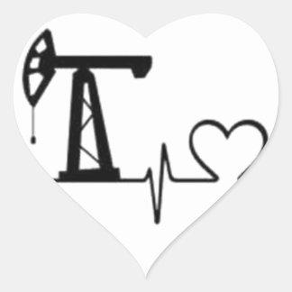Sticker Cœur Battement de coeur de Jack de pompe