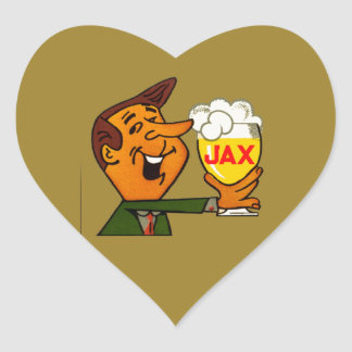 Sticker Cœur Bière de Jax