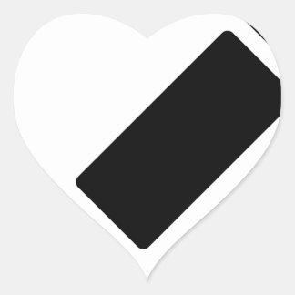 Sticker Cœur Bloc-notes