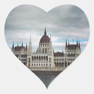 Sticker Cœur Budapest