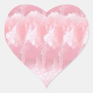 Sticker Cœur But multi Écrire-sur le métier de papier décoratif