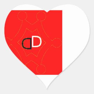 Sticker Cœur by Démon Déchu