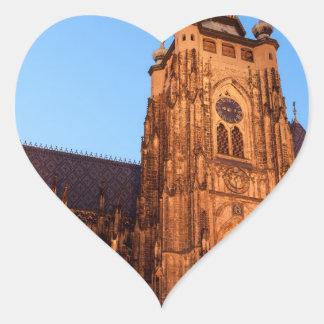 Sticker Cœur Cathedral in Prague