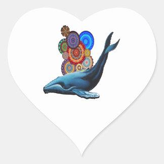Sticker Cœur Célébrez la vie