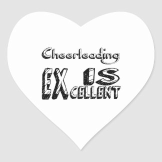 Sticker Cœur Cheerleading est excellent