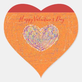 Sticker Cœur Coeur de Valentine