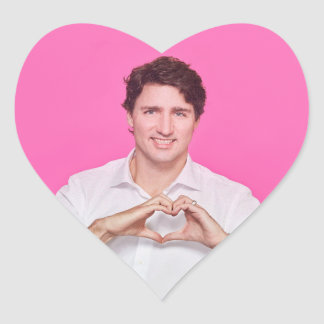 Sticker Cœur Coeur Trudeau Stricker