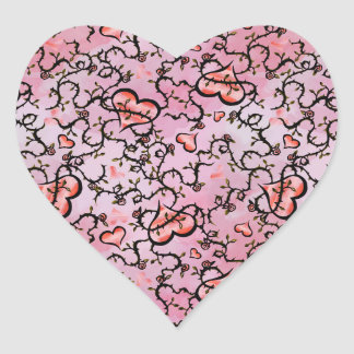 Sticker Cœur Coeur Valentine