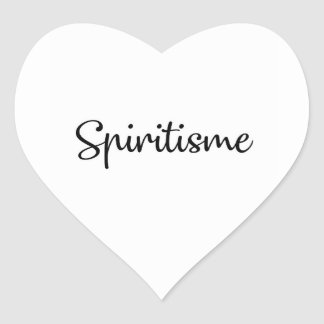 Sticker Cœur Colle Spiritisme
