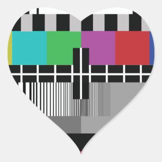 Sticker Cœur Common Essai PAL TV