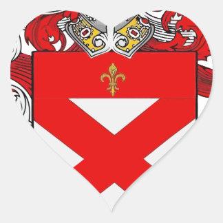Sticker Cœur cowan
