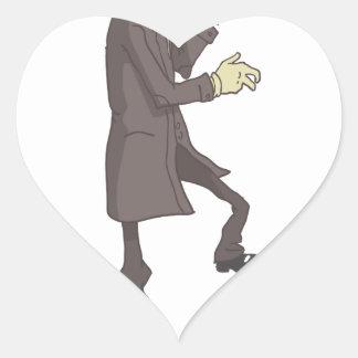 Sticker Cœur Criminel dangereux de tueur professionnel décrit