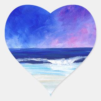 Sticker Cœur Danse pour la déclaration réfléchie d'art de lune