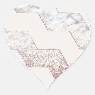 Sticker Cœur Dernière lumière