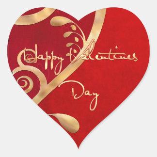 Sticker Cœur Élégance 2 de Valentine