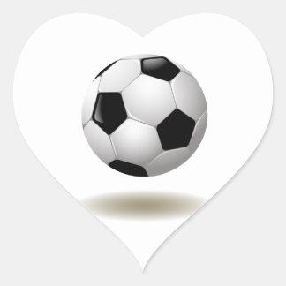 Sticker Cœur Emblème frais du football