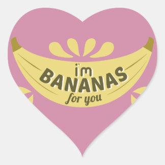 Sticker Cœur Expression drôle d'illustration je suis des