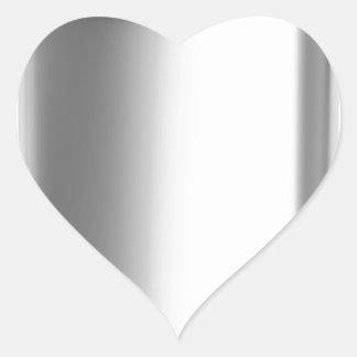 Sticker Cœur Flacon de hanche d'acier inoxydable