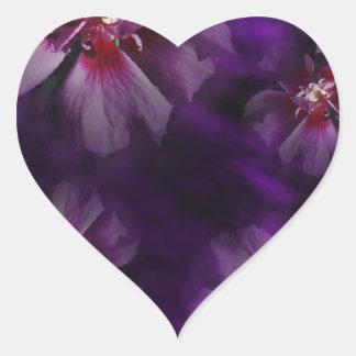 Sticker Cœur Florals2