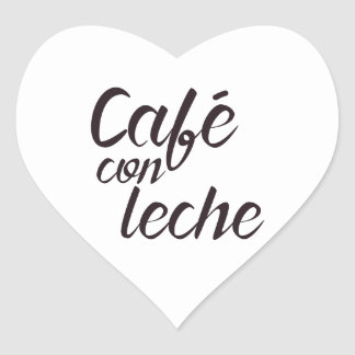 Sticker Cœur Forme de coeur d'autocollant de café - escroquerie