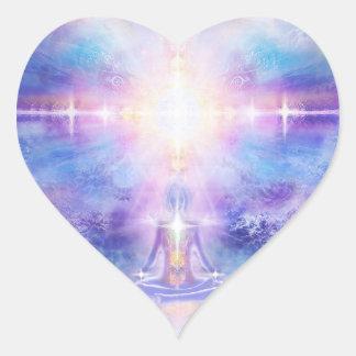 Sticker Cœur Goût V053 de divinité