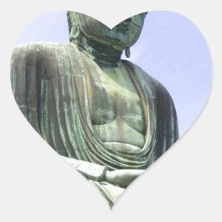Sticker Cœur Grand Bouddha