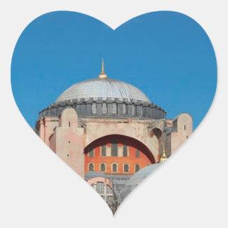 Sticker Cœur Hagia Sophia Turquie
