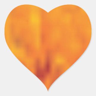 Sticker Cœur haut étroit de pollen