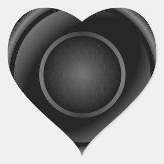 Sticker Cœur Haut-parleur bruyant
